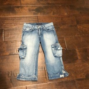 Rock & Republic Cropped Jeans